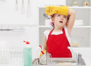 kids complaining about doing chores