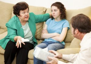 getting along with difficult family members