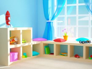 organized play room
